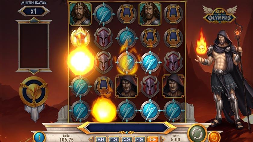 Slotspel med Hades